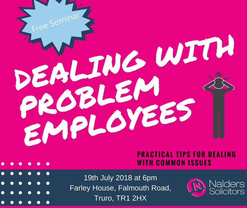 Dealing with Problem Employees!